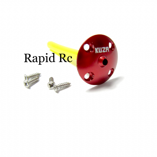 Kuza Fuel Tank Vent  Red